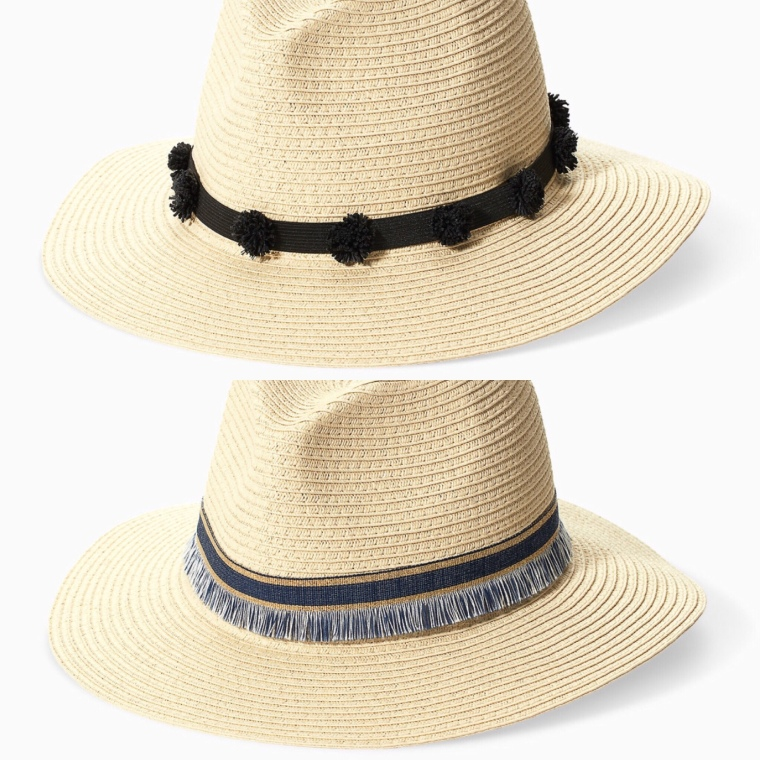 Women's 2018 Summer Fashion Straw Fedora Hat