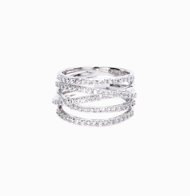 2018 Women's Accessories stackable diamond rings gifts for her