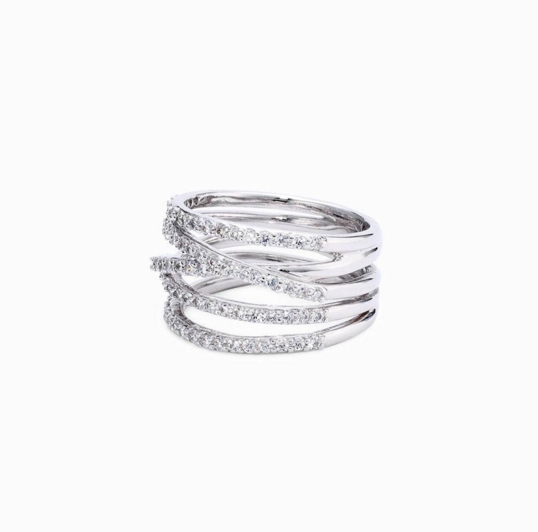 2018 Women's Accessories gifts for her diamond stackable rings